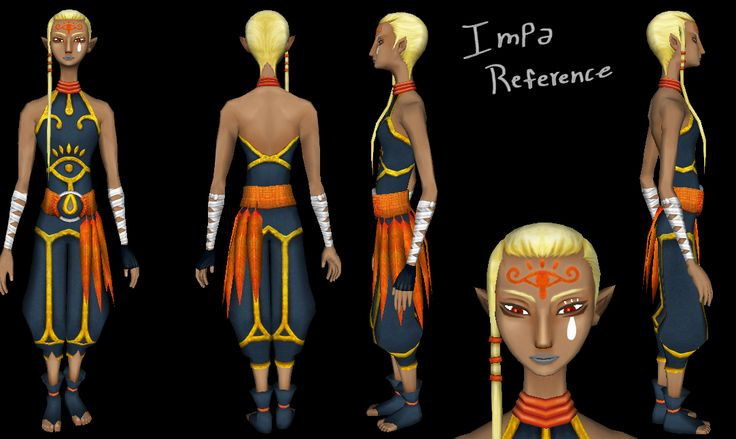 impa skyward sword cosplay - photo #15