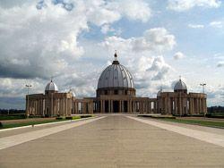 Costa de Marfil Yamoussoukro Basílica de Nuestra Señora de la Paz
