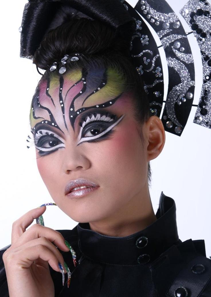 Creative Fantasy Makeup -darl