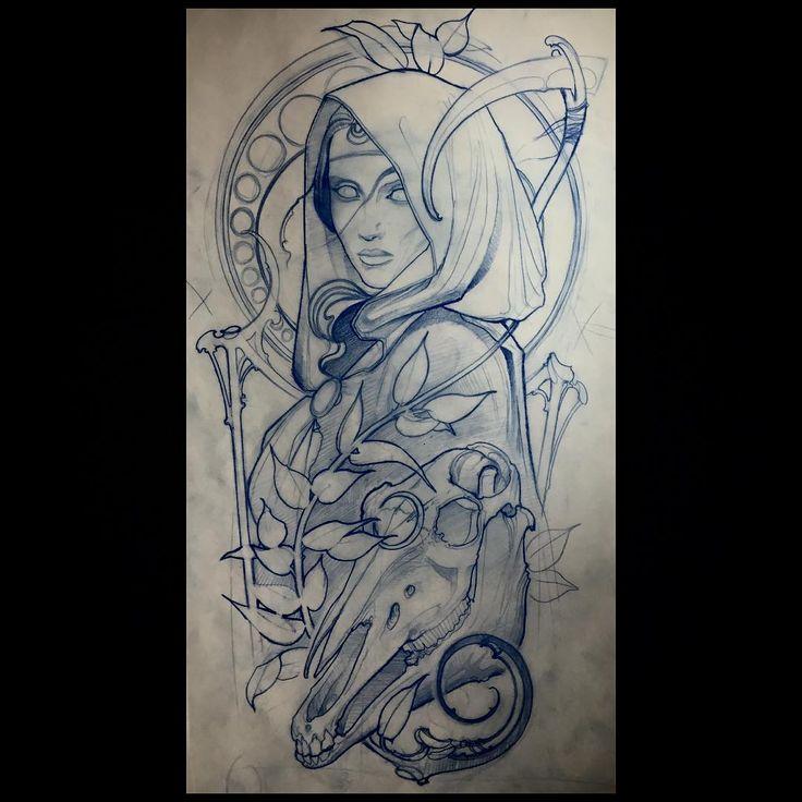I tattoo in Winnipeg at Kapala tattoo. danfletchertattoos@gmail.com