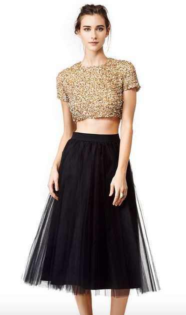 Badgley Mischka Windswept Skirt   Five for Friday: Hot, Affordable Pieces from Rent the Runway's 5Y Collection