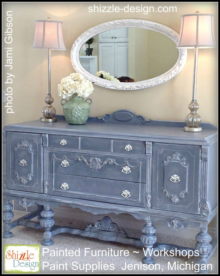Best Buffets Sideboards Images On Pinterest Painting - Trendy painted furniture
