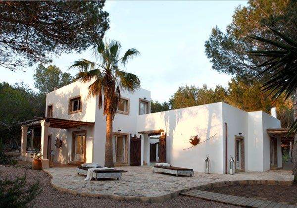 Charming rustic modern home on Formentera