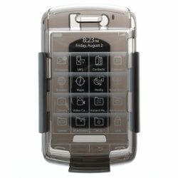 Speck Products See Thru Hard Shell Case with Holster for Blackberry 9500, Black