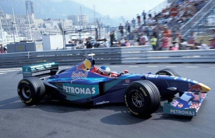 Jean Alesi - Sauber - Monaco 1998