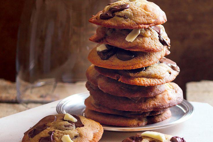 Biscottoni ai tre cioccolati