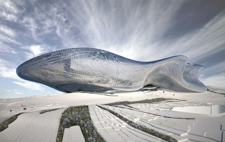 Futuristic Architecture, STUDIO ROLAND SNOOKS