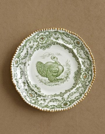 Adore these turkey plates. My mom has some like them (although they aren't the set she's giving me).