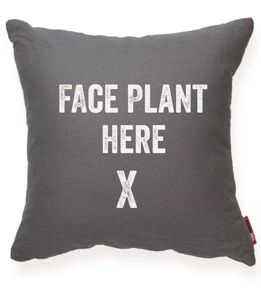 face plant pillow