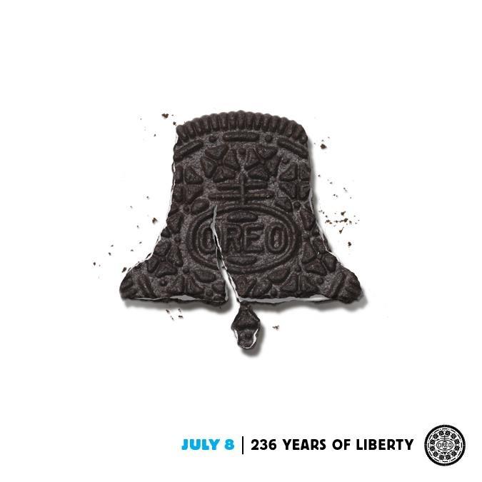 liberty bell oreo