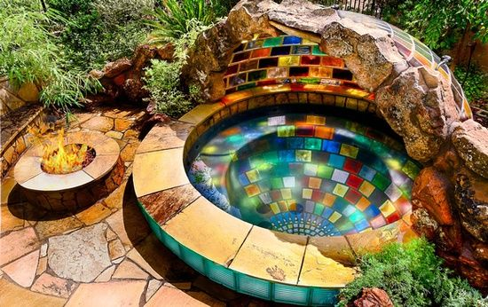 unbelievable rainbow spa!