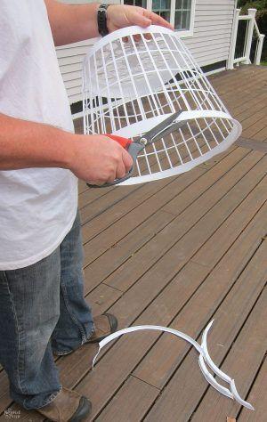 Hanging Cage Halloween Prop halloween Pinterest Diy halloween
