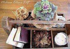 Hometalk :: Vintage Fall Decor :: Organized Clutter's clipboard on Hometalk
