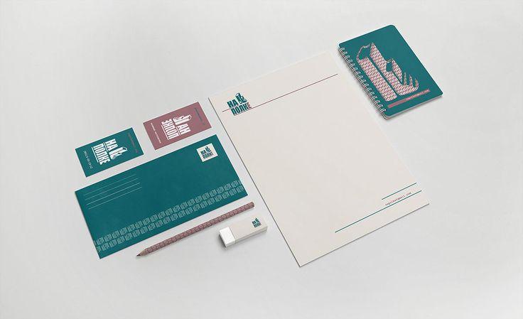"""Ознакомьтесь с моим проектом в @Behance: «Corporate identity of book shop """"Na…"""
