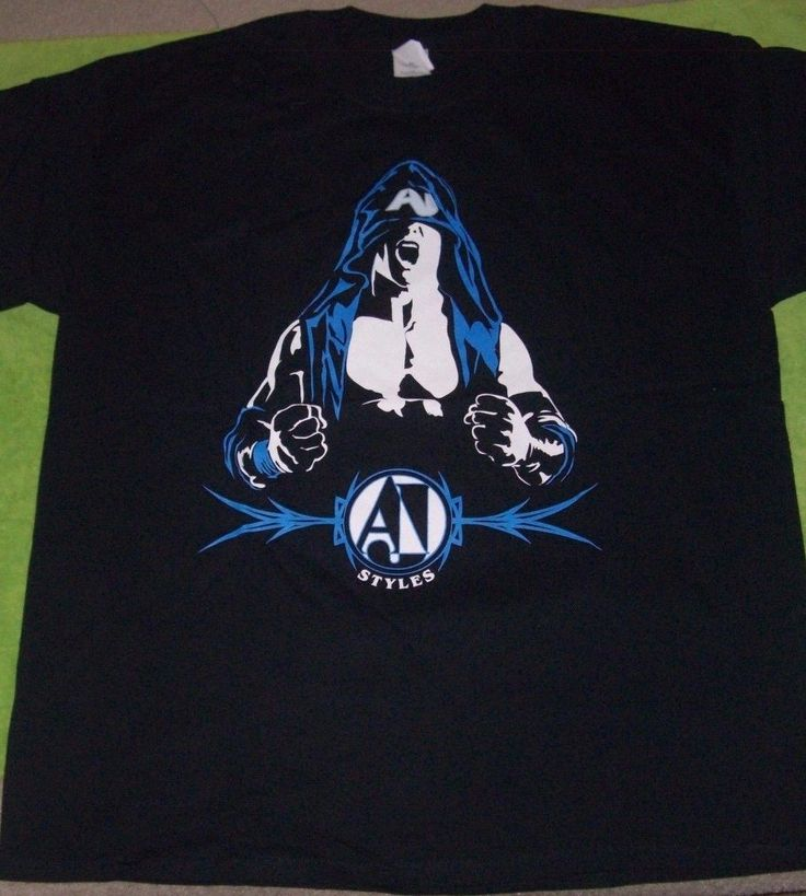 AJ STYLES official Simply Phenomenal shirt (XL) * New, Never worn WWE TNA - http://bestsellerlist.co.uk/aj-styles-official-simply-phenomenal-shirt-xl-new-never-worn-wwe-tna/