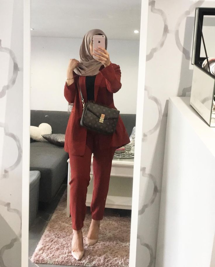 Power outfit for a day at work