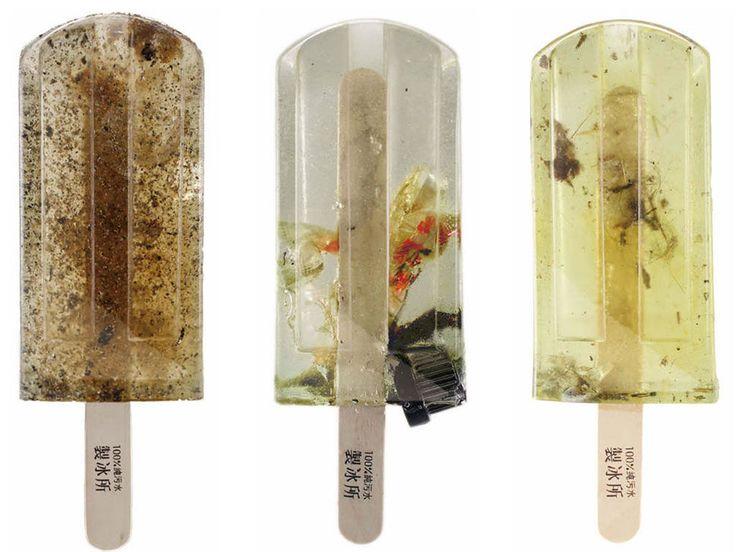 Vous prendrez bien une petite glace… à l'eau polluée ?