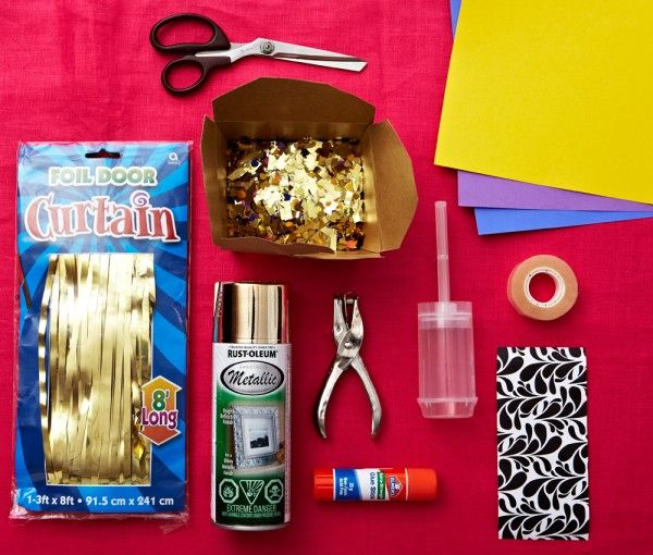 DIY Confetti Poppers! Woo, great for any party. Maybe? Gonna have to do a test run and see if they actually work.