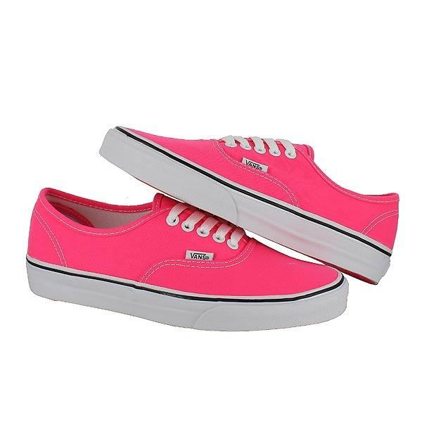 Vans Schuhe Neon Pink