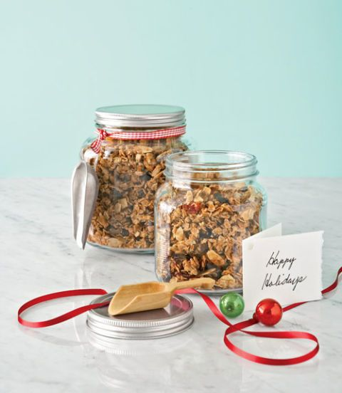 Brown sugar complements tangy cranberries and apricots in this super-addictive cereal mix. Recipe: Golden Honey Granola