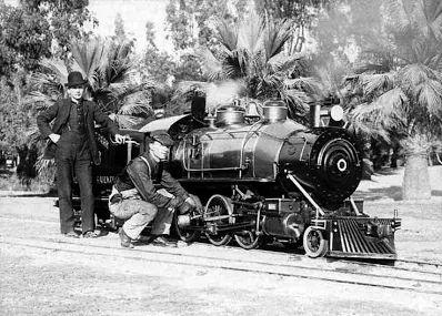 Eastlake Park railway - ca 1905