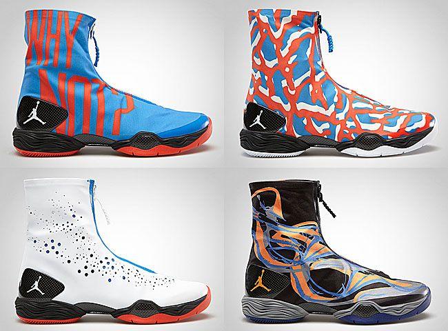 quality design 7ebfd bdd32 Releasing  Air Jordan XX8 Russell Westbrook PE  OKC Pack  + Phoenix Suns -  EU Kicks  Sneaker Magazine