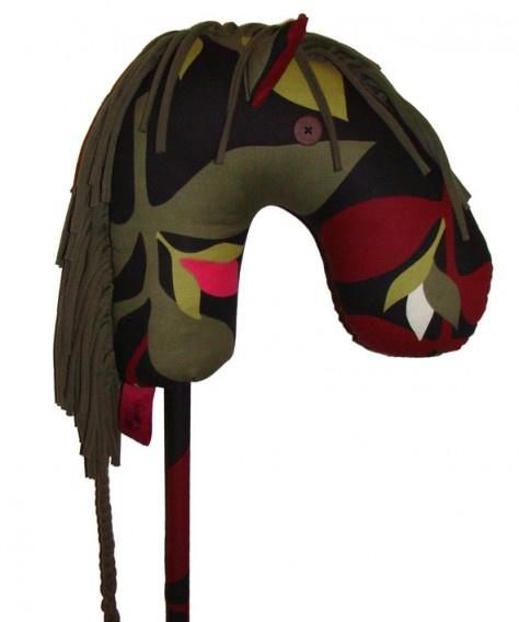 KORBA DESIGN: patataj - a horse made from recycled fabric   Patataj - konik z tkanin z odzysku