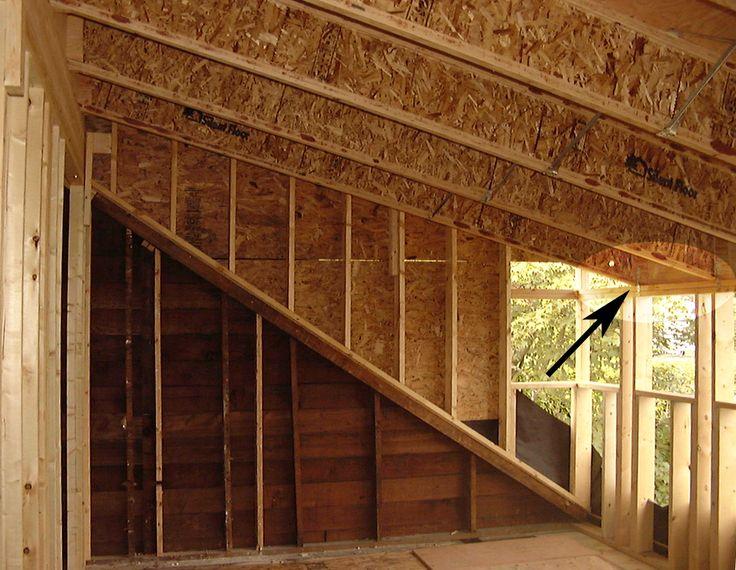 dormer frame loft framing pinterest