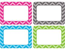 Chevron Name Tags/Labels - Multi-Pack (TCR5526) « Products |  #Teacher Created Resources #Chevron Classroom These labels are just the right size for writing journals, math notebooks, or book take-home reading bags!