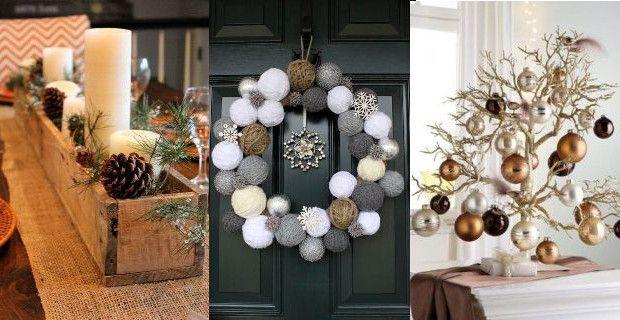 M s de 25 ideas nicas sobre navidad moderna en pinterest for Decoracion de navidad barata