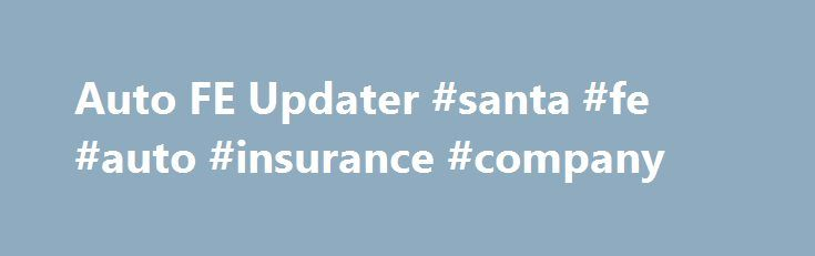 Auto FE Updater #santa #fe #auto #insurance #company http://sudan.remmont.com/auto-fe-updater-santa-fe-auto-insurance-company/  # Auto FE Updater Microsoft Access MVP from 1999 to 2014 Want an easy way to distribute updates to the users of your Microsoft® Access® front end? Tired of visiting users PCs to roll out a new version of an Access® front end? Weary of explaining to each of the users how to use Windows Explorer to copy the new FE from the server to their PC; And then fixing up the…