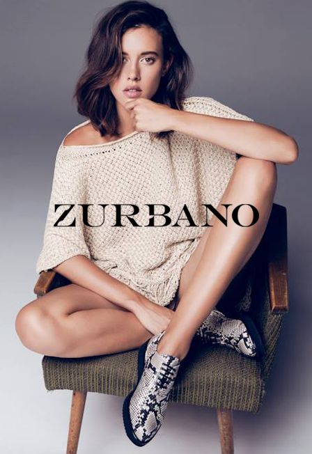 Zurbano FW15 lookbook collection | Freddy - python print leather lace-up oxfords