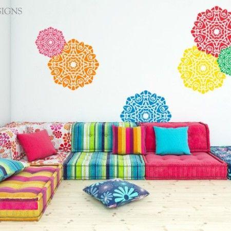 17 best images about decoracion de interiores on pinterest - Plantillas para decorar ...
