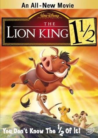 The lion king 1/1/2 - 2DVD platinum edition