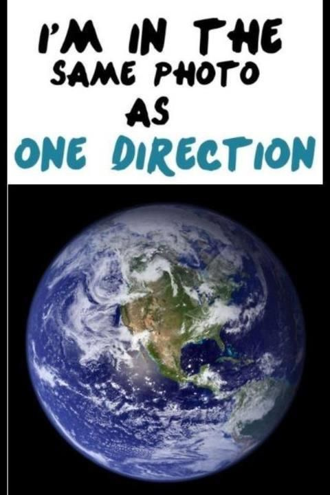 Ahaha I finally feel special! I'm so greatful, being in the same photo as One Direction!!!