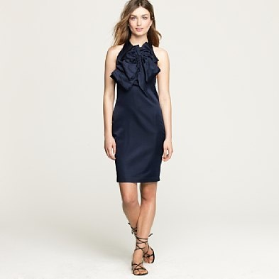 Great option for a black tie event...in navy from j. crew.