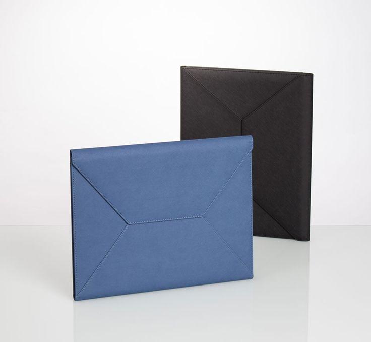 liberosystem Binder #planner, #diary, #organizer, #leather, #note, #case Lock using hidden magnet Tablet PC storage Envelope shape design