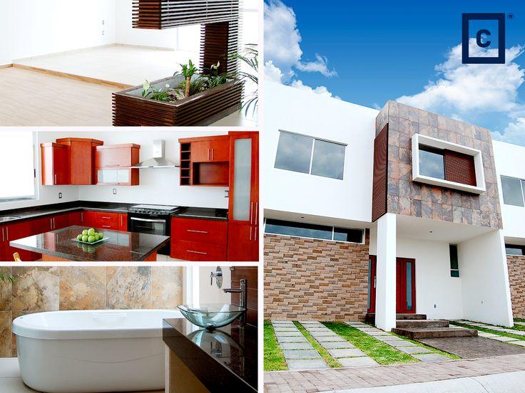 Casa en venta, cuenta con 4 recámaras, 3 baños, paneles solares, calentador de agua solar, jardín y espacio para 3 vehículos. #Queretaro #Casa #Venta