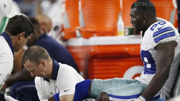 Dez Bryant has been sidelined for minimum 4-6 weeks after a right foot injury.