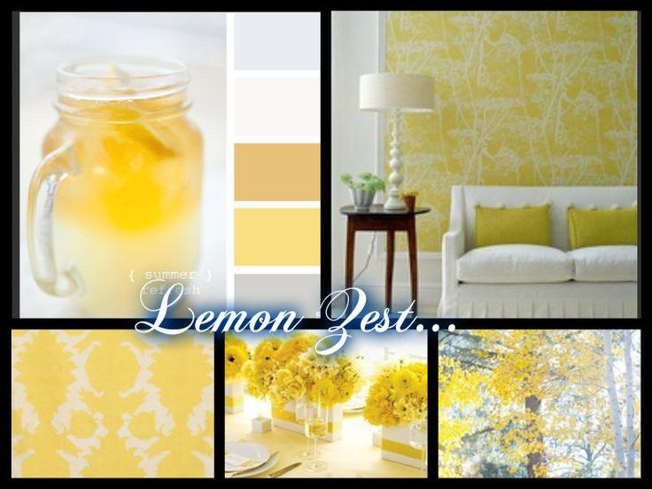 Lemon Zest...