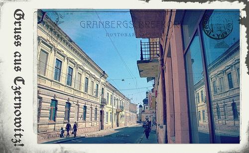 Greetings from Chernivtsi IV (Postcard Imitated)