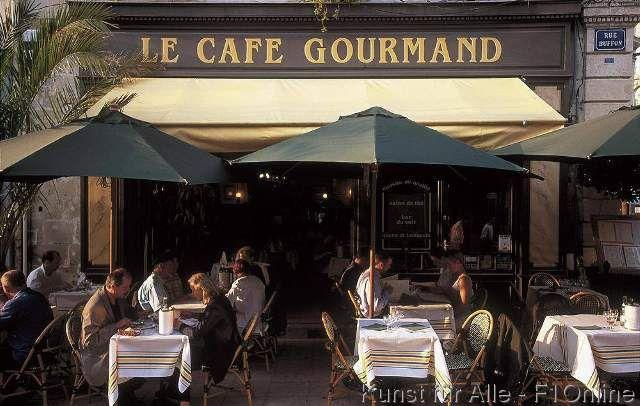 Restaurant Cafe Gourmand, Bordeaux, Strassencafe
