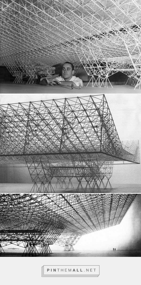 Konrad Wachsmann's hangar - Salomea's Room... - a grouped images picture - Pin…