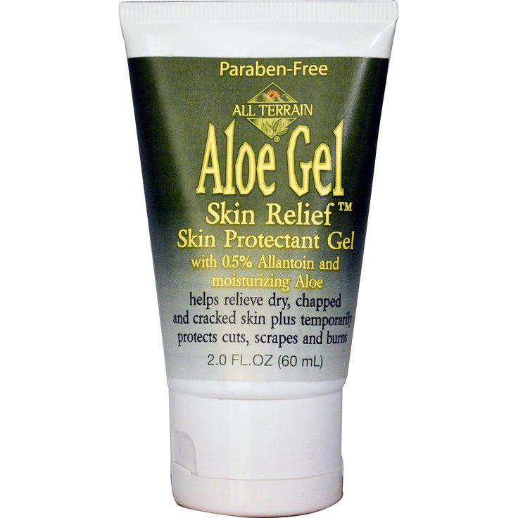All Terrain, Aloe Gel Skin Relief Skin Protectant Gel, 2.0 fl oz (60 ml) - iHerb.com buy: http://www.iherb.com/All-Terrain-Aloe-Gel-Skin-Relief-Skin-Protectant-Gel-2-0-fl-oz-60-ml/53358#p=3&oos=1&disc=0&lc=en-US&w=all%20terrain&rc=63&sr=null&ic=56