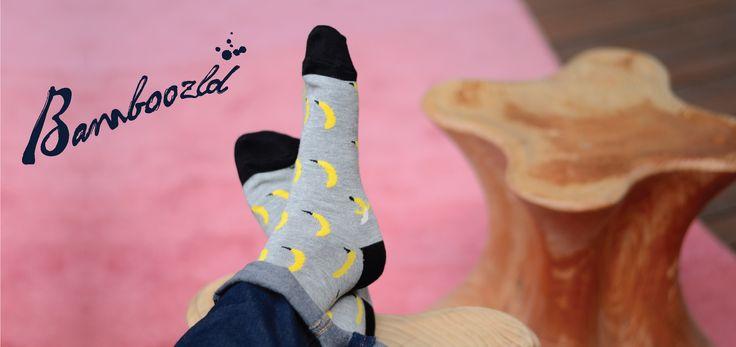 Bamboozld Ditsy Banana Bamboo Socks