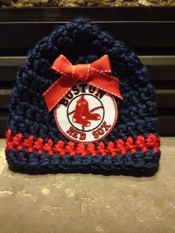 ... coupon for newborn crochet red sox beanie with detachable bow b9ca8  81ce0 ... 67e2e9247d4
