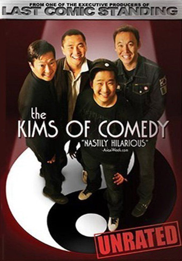 The Original Kims break new ground with an uncompromising look at Asian culture and some hilarious ethnic hang-ups. Featured are 4 of the top Asian comedians on stage today: Bobby Lee, Kevin Shea, Steve Byrne, and Dr. Ken Jeong.