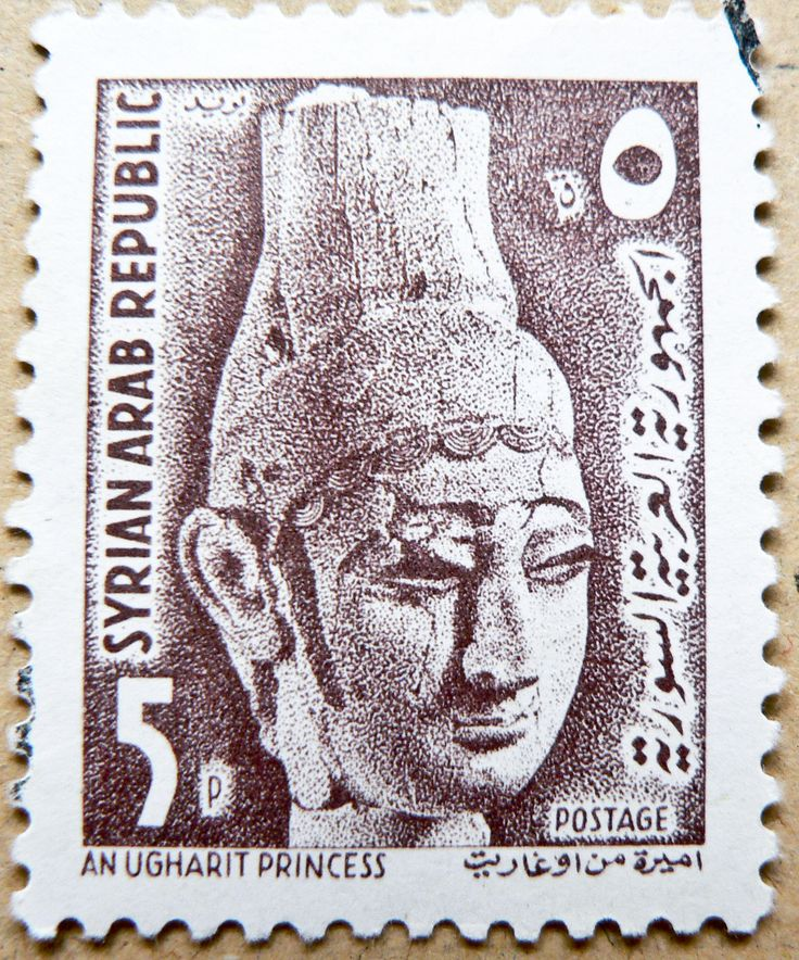 https://flic.kr/p/DH5DDY | *peace* beautiful stamp Syria 5p (An Ugharit Princess, 1300 B.C.; Prinzessin aus Ugarit 1300 v.Chr.) timbre Syrie, frimärken frímerki Syria марка Сирия σφραγίδα Συρία sello selo Siria 叙利亚 邮票 ختم سوريا  スタンプ シリア سوریه تمبر bélyeg Szíria postimerkkejä | *** *** *** I'm stampolina and I love to take photos of stamps. Thanks for visiting this pages on flickr.  I'm neither a typical collector of stamps, nor a stamp dealer. I'm only a stamp photograph. I'm fascinated of…