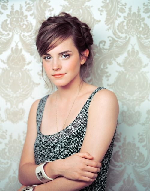emma watson. you are so dang gorgeous. that's all.