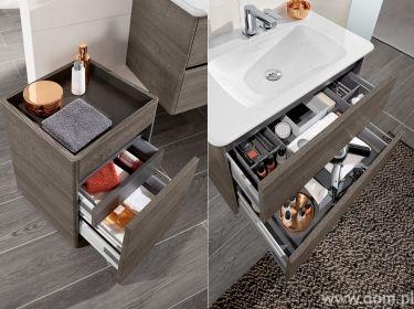 Funkcjonalne szafki do małej łazienki